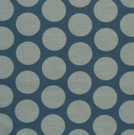 Oilcloth – Super Dot Teal Blue / Verte