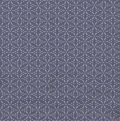 Oilcloth – Sakura Stone  Blue