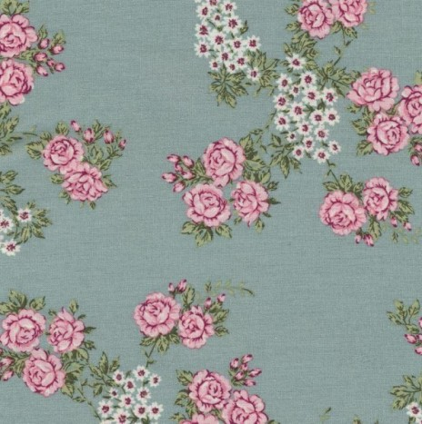 Oilcloth – Isabella Ice Green