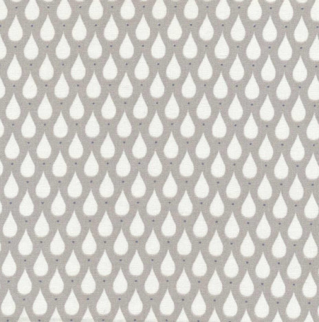 Oilcloth – Teardrops Toffee