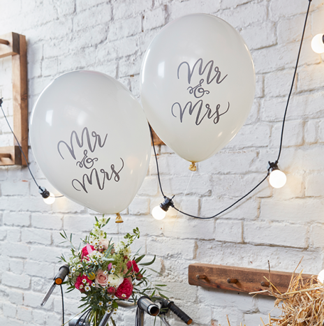 Mr & Mrs Balloons – Boho