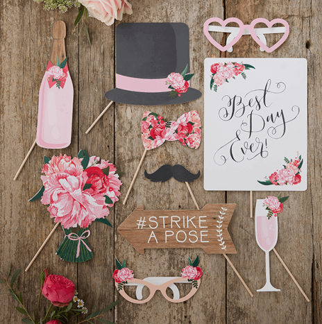 Wedding Photo Booth Props – Boho