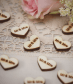 "Heart Wood Confetti ""Mr And Mrs"" - Vintage Affair"