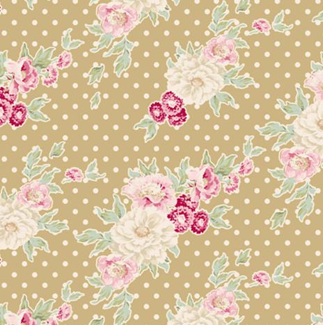 Cybill Tan Yellow – Apple Bloom by Tilda