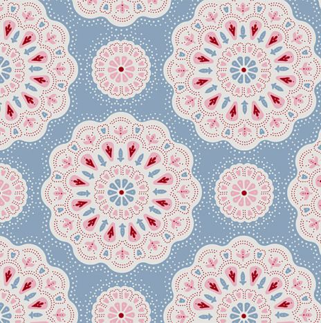 Doilies Light Blue – Sweet Heart by Tilda