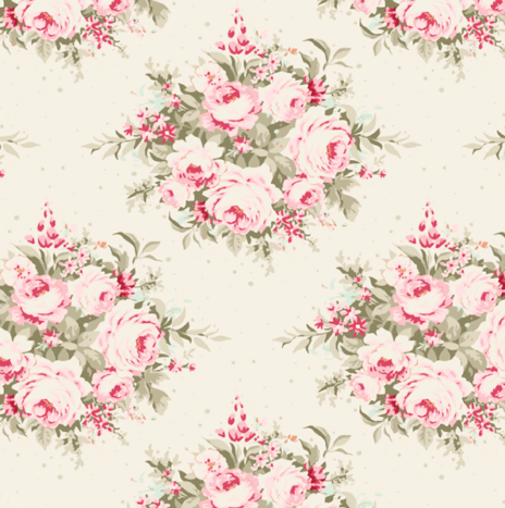 Floribunda Dove White – Sweet Heart by Tilda