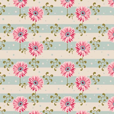 Gerbera Pink – Spring Diaries by Tilda