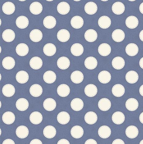 Sewn Spot Blue – Autumn Tree by Tilda