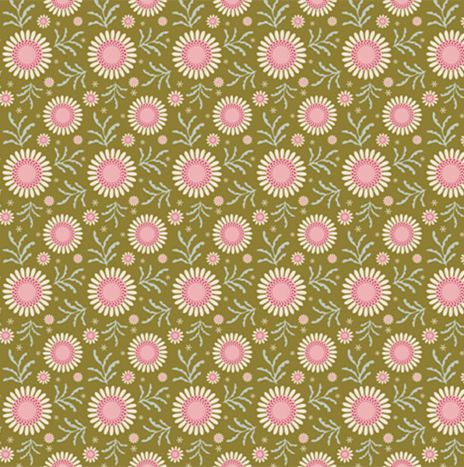 SunFlower Green – Pardon my garden by Tilda