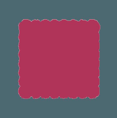 Punch scallop square 7,6cm
