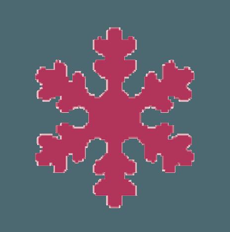 Punch Snow Flake 7,6cm
