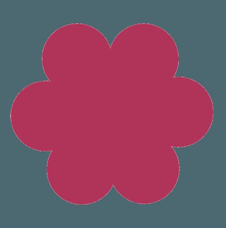Punch Flower 7,6cm