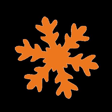 Punch Snow Flake 3,5cm