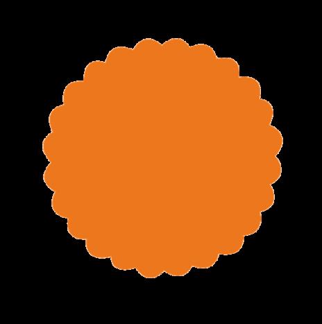 Punch Scallop Circle 3,5cm