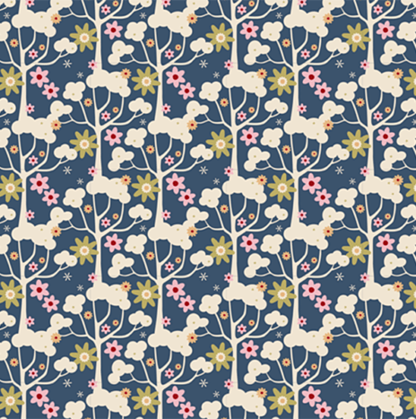 Wildgarden Dark Blue – Pardon my garden by Tilda