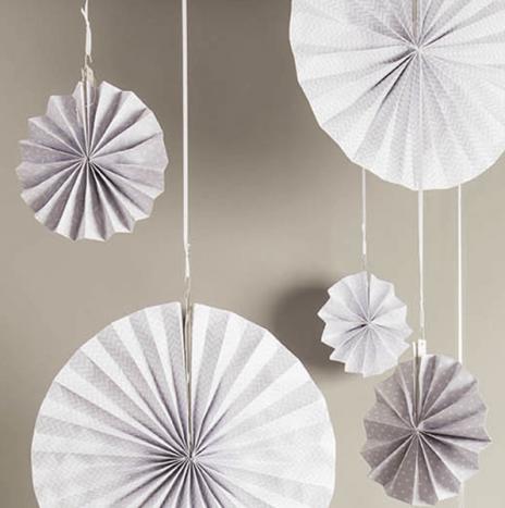 Paper Wheels Grey- Set 3