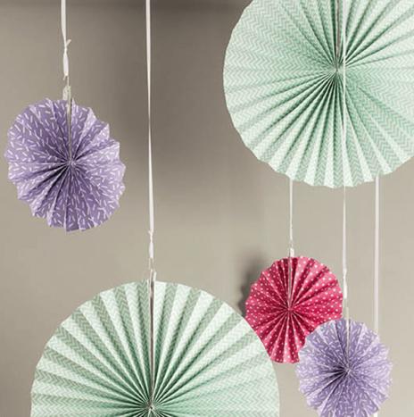 Paper Wheels Bright- Set 3