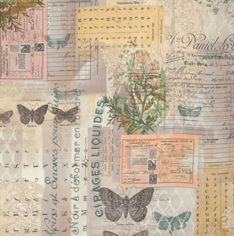 Tim Holtz – Wallflower Botanical