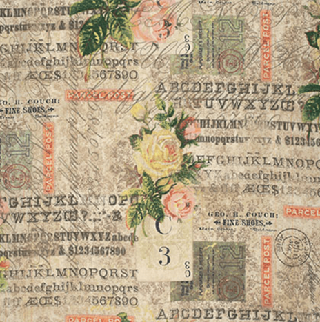 Tim Holtz – Wallflower Rose Parcel