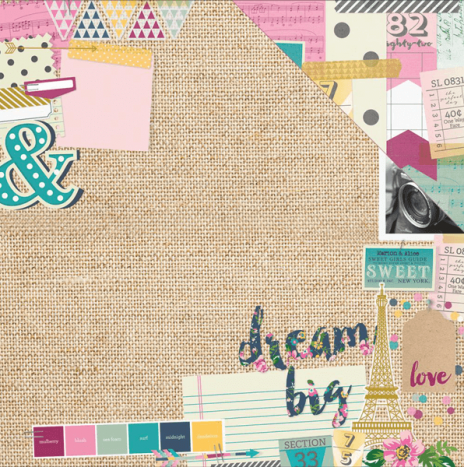 So Fancy –  Mood Board by Simples Stories