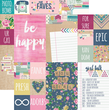 So Fancy –  2×2 & 4×6 Elements by Simples Stories