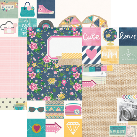 So Fancy –  2×2 & 6×8 Elements by Simples Stories