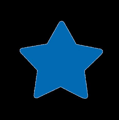 Punch – Star 2,5cm