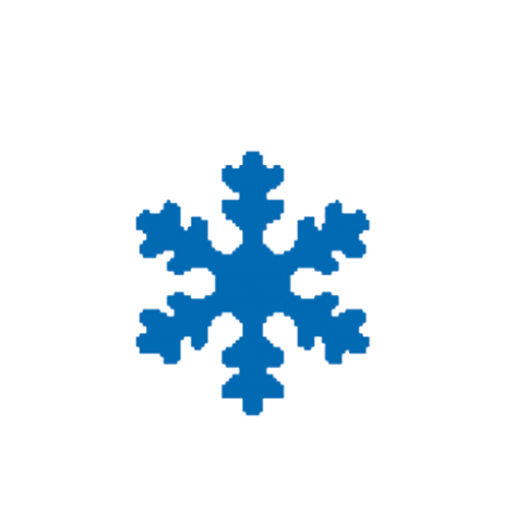 Punch – Snow Flake 2,5cm