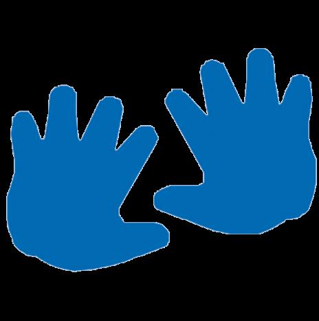 Punch – Hands 2,5cm
