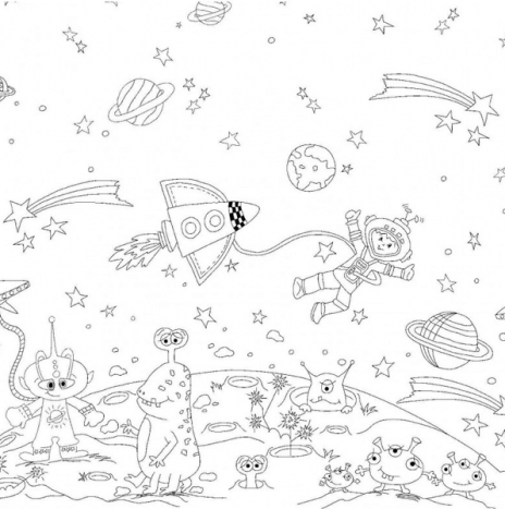 Color Me – Space Adventures Panel