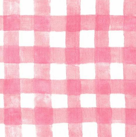 Gauze – Mini Painted Gingham Blossom