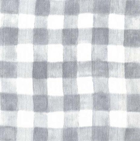Gauze – Mini Painted Gingham Gray