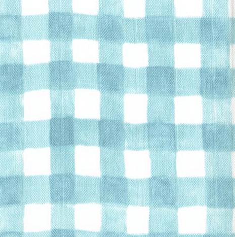 Gauze – Mini Painted Gingham Mist