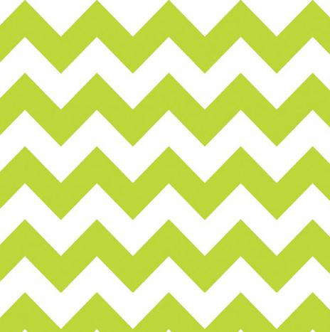 Medium Chevron Lime