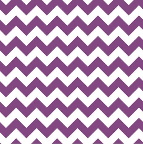 Small Chevron Purple