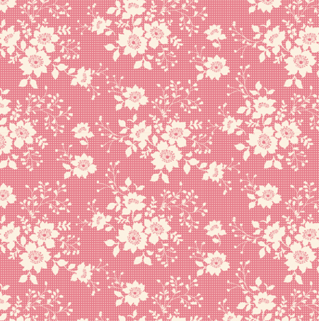 Libby Pink – Cabbage Rose by Tilda
