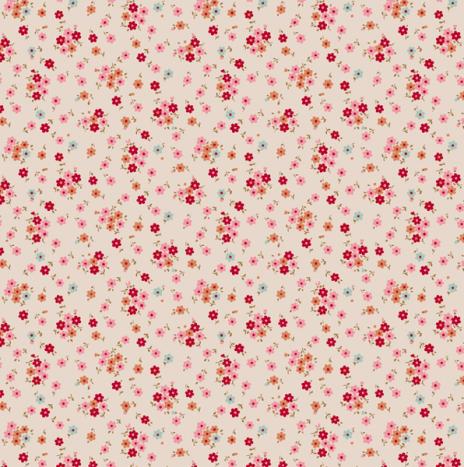 Tilly Red – Cabbage Rose by Tilda