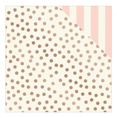Hooray – Rosey Dot Rose Gold Foiled Paper