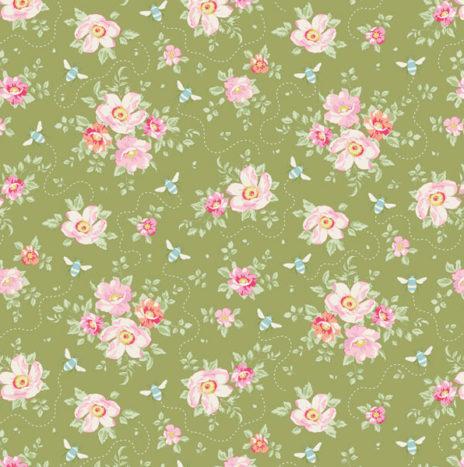 Rosa Millis Green – Bumblebee by Tilda