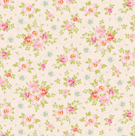 Rosa Millis Linen – Bumblebee by Tilda