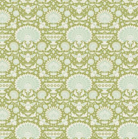 Garden Bees Green – Bumblebee by Tilda