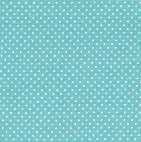 Oilcloth Dots Azur