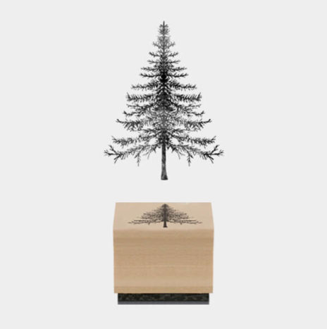 Rubber Stamp -Christmas Tree