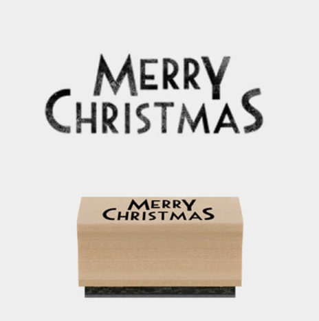 Rubber Stamp – Merry Christmas