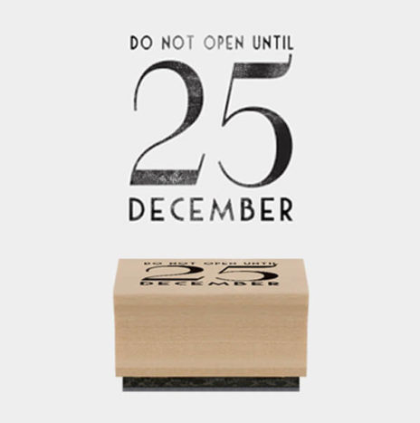 Rubber Stamp – Do Not Open