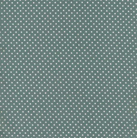 Oilcloth Dots Antique Green