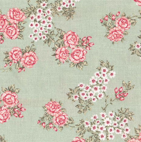 Oilcloth Isabella Light Green