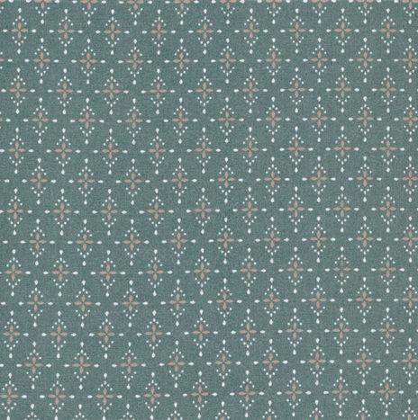 Oilcloth Yasmin Antique Green