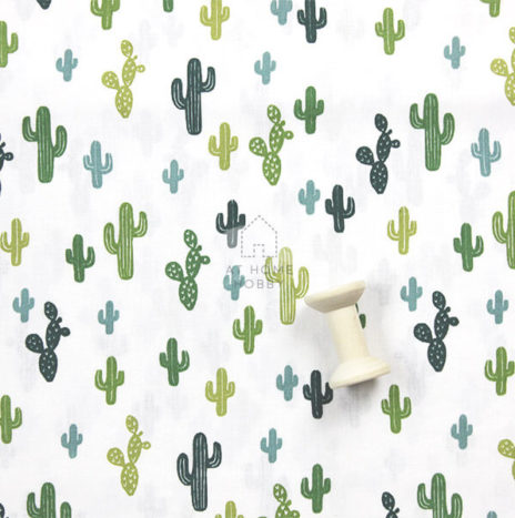 cotton fabric – cactus