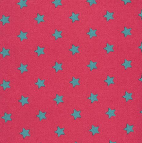 Oilcloth Star Big Sorbet Spearmint